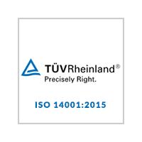 TUVRHeinlad ISO 14001:2015